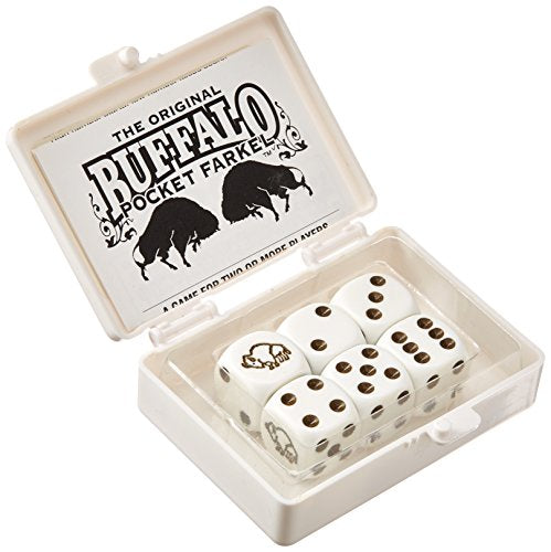 Legendary Games Buffalo Flat Pack Farkel, Multicolor