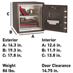SentrySafe Fireproof and Waterproof Safe