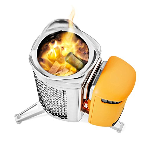 BioLite CampStove 2 - Wood Burning and USB Charging