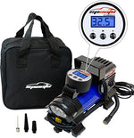 Portable Air Compressor Pump, Digital Tire Inflator, EPAuto 12V DC
