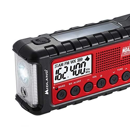 Midland - ER310 Solar Hand Crank Weather Radio