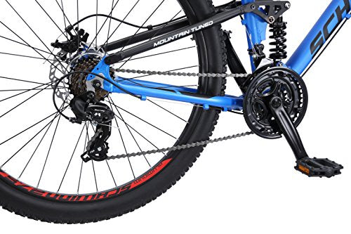 "Schwinn Men's Protocol 2.7 Mountain Bike, 27.5"" Wheels, 17"" Frame Size, Matte Blue"