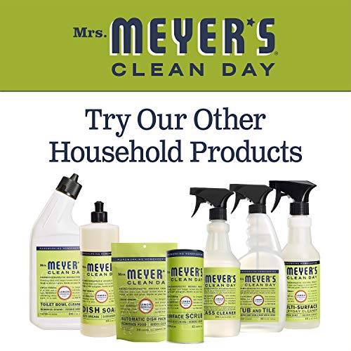 Mrs. Meyer's Clean Day Liquid Dish Soap, Lemon Verbena, 16 ounce bottle (Pack of 3)