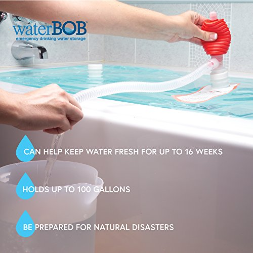 WaterBOB Bathtub Emergency Drinking Water Storage Container, BPA-Free, 100 Gallon