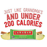 LARABAR, Fruit & Nut Bar, Apple Pie, Gluten Free, Vegan, Whole 30 Compliant, 1.6 oz Bars (16 Count)