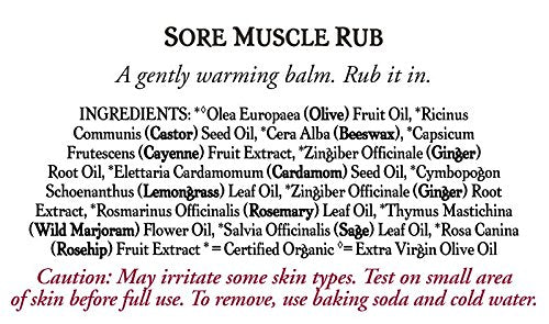 Badger Sore Muscle Rub - .75 oz. Tin