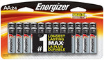 Energizer AA Batteries - (24 Count)
