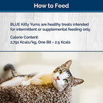 Blue Kitty Yums Soft-Moist Cat Treats 2-oz