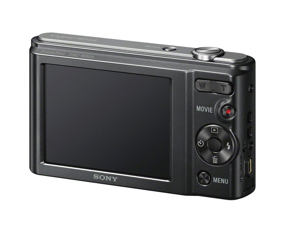 Sony DSCW800/B 20.1 MP Digital Camera (Black)