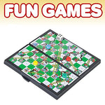 Gamie Magnetic Board Game Set Includes 12 Retro Fun Games