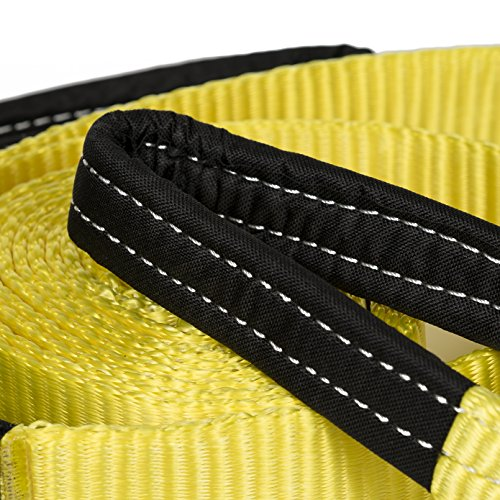 Heavy Duty Tow Strap, 30,000 lbs, 20 Feet