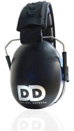 Professional Safety Ear Muffs by Decibel Defense - 37dB NRR - The HIGHEST Rated & MOST COMFORTABLE Ear Protection for Shooting & Industrial Use - THE BEST HEARING PROTECTION...GUARANTEED