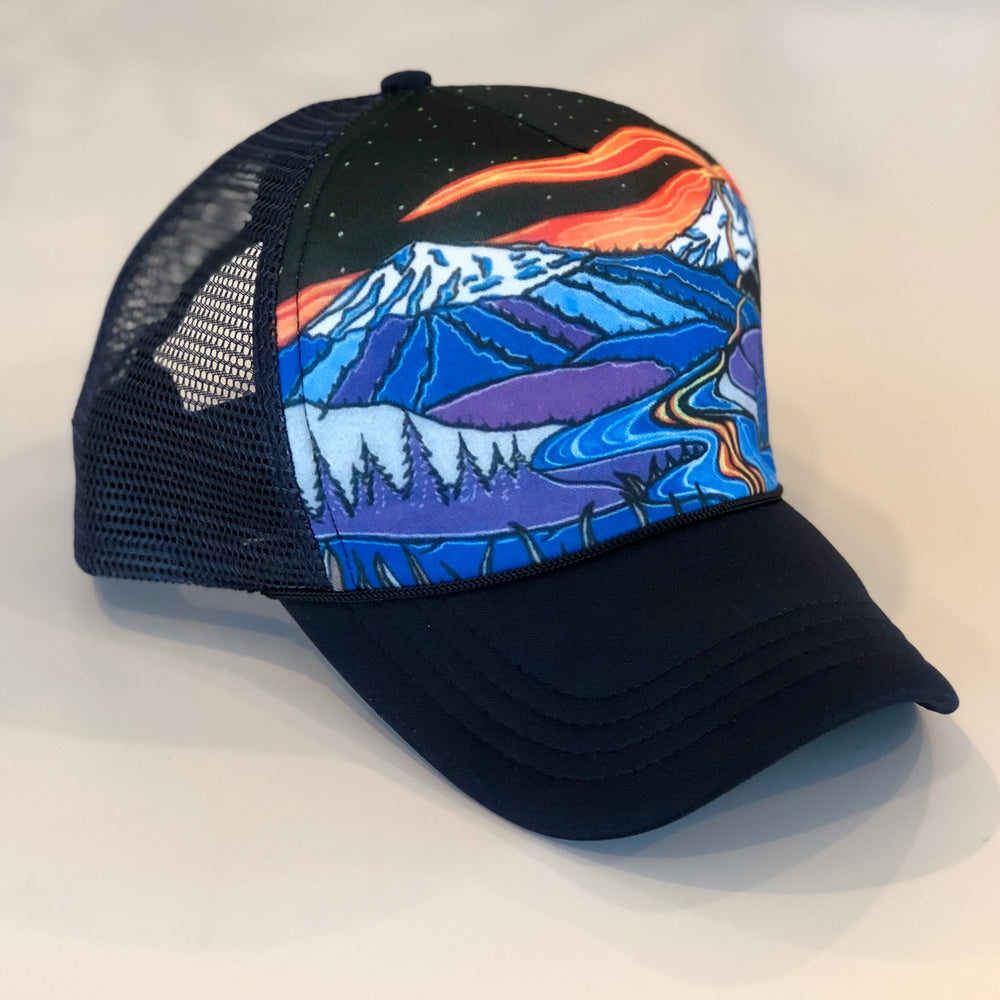 Broken Top to Deschutes River Trucker Hat