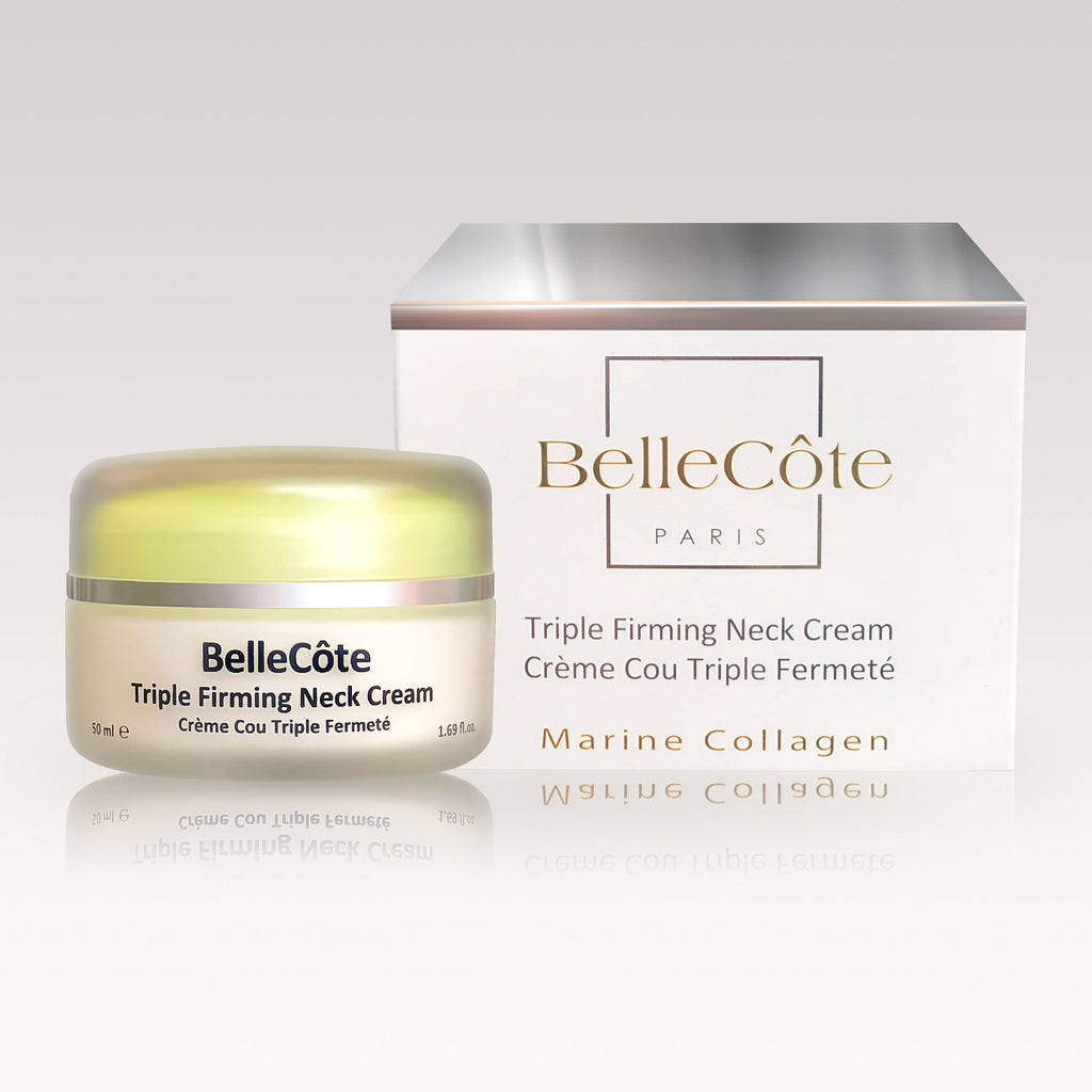 Triple Firming Neck Cream - A Contour Creator 50ml - BelleCôte Paris
