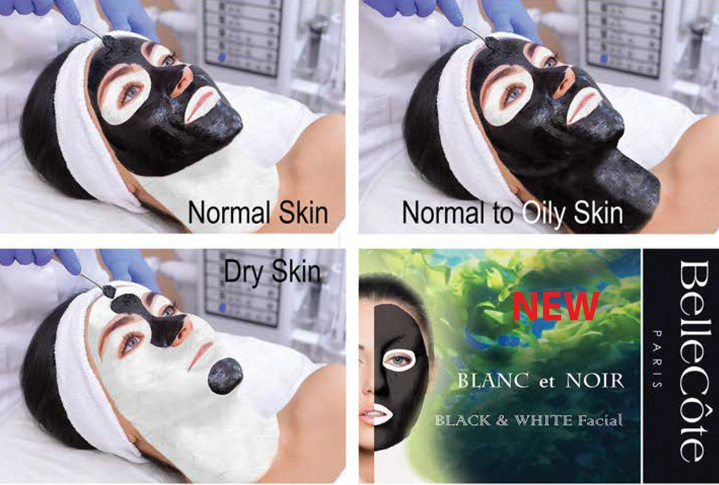 BLANC et NOIR Facial Package - BelleCôte Paris