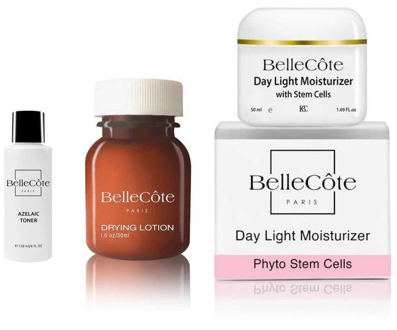 Oily-Combination & Acne Regimen - BelleCôte Paris