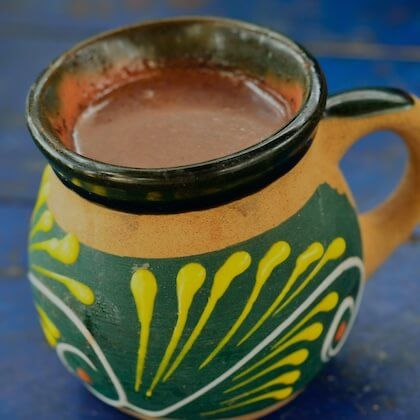 Ceremonial Cacao and Sipping or Drinking Chocolate