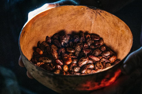 Hand Roasted Ceremonial Cacao Beans Guatemala