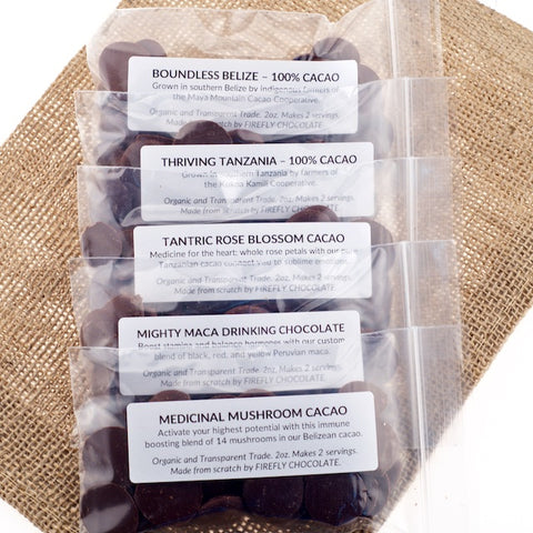 100% Ceremonial Cacao Kits
