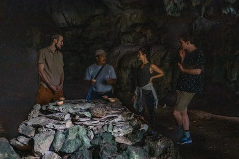 Cacao Ceremony In A Mayan Cave
