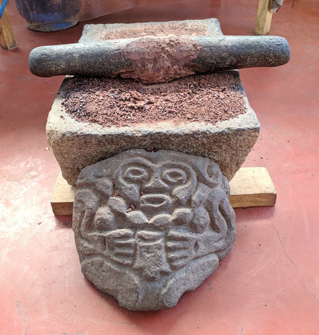 Metate Hand Crafted Artisan Cacao Paste