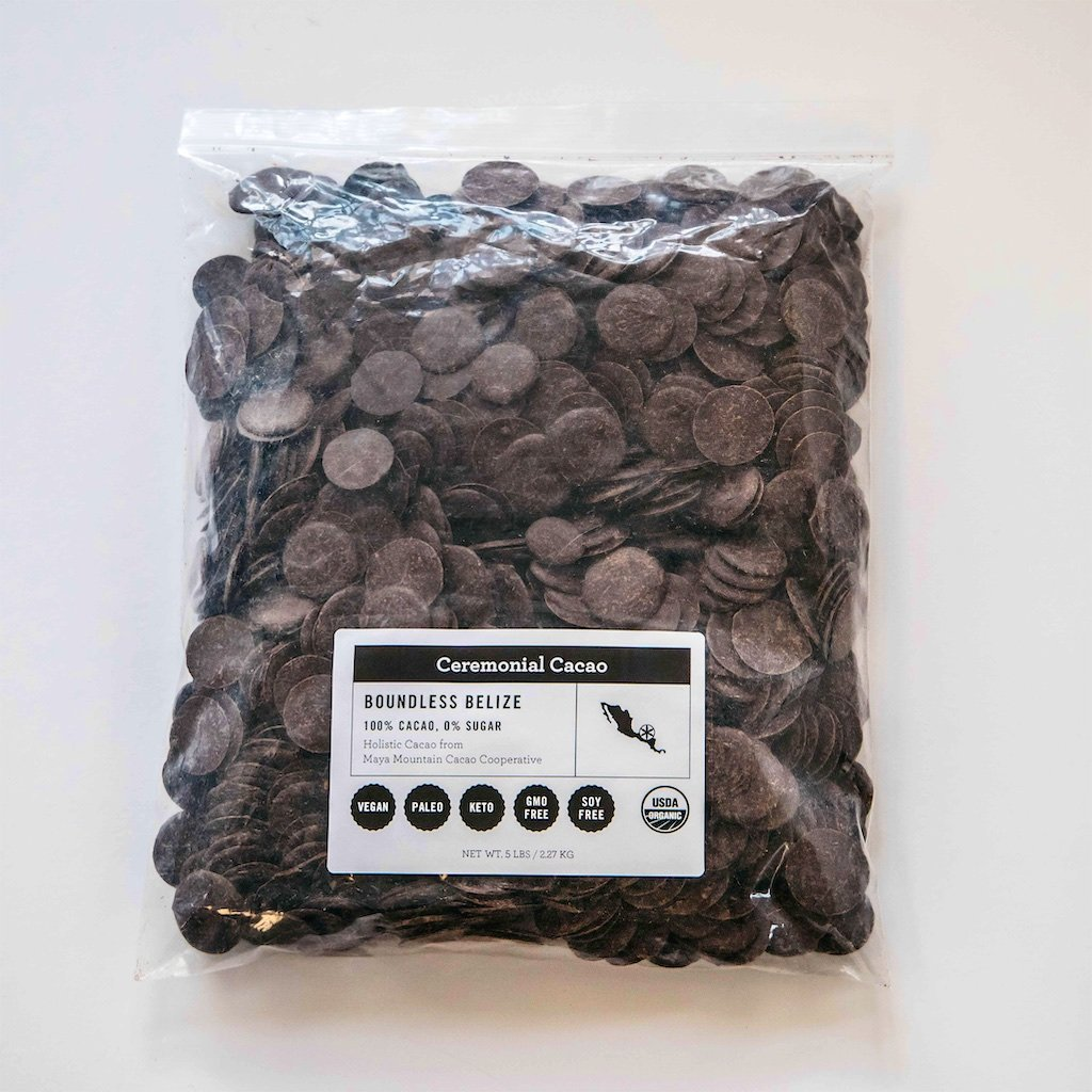 Boundless Belize Ceremonial Cacao 5LB Bag