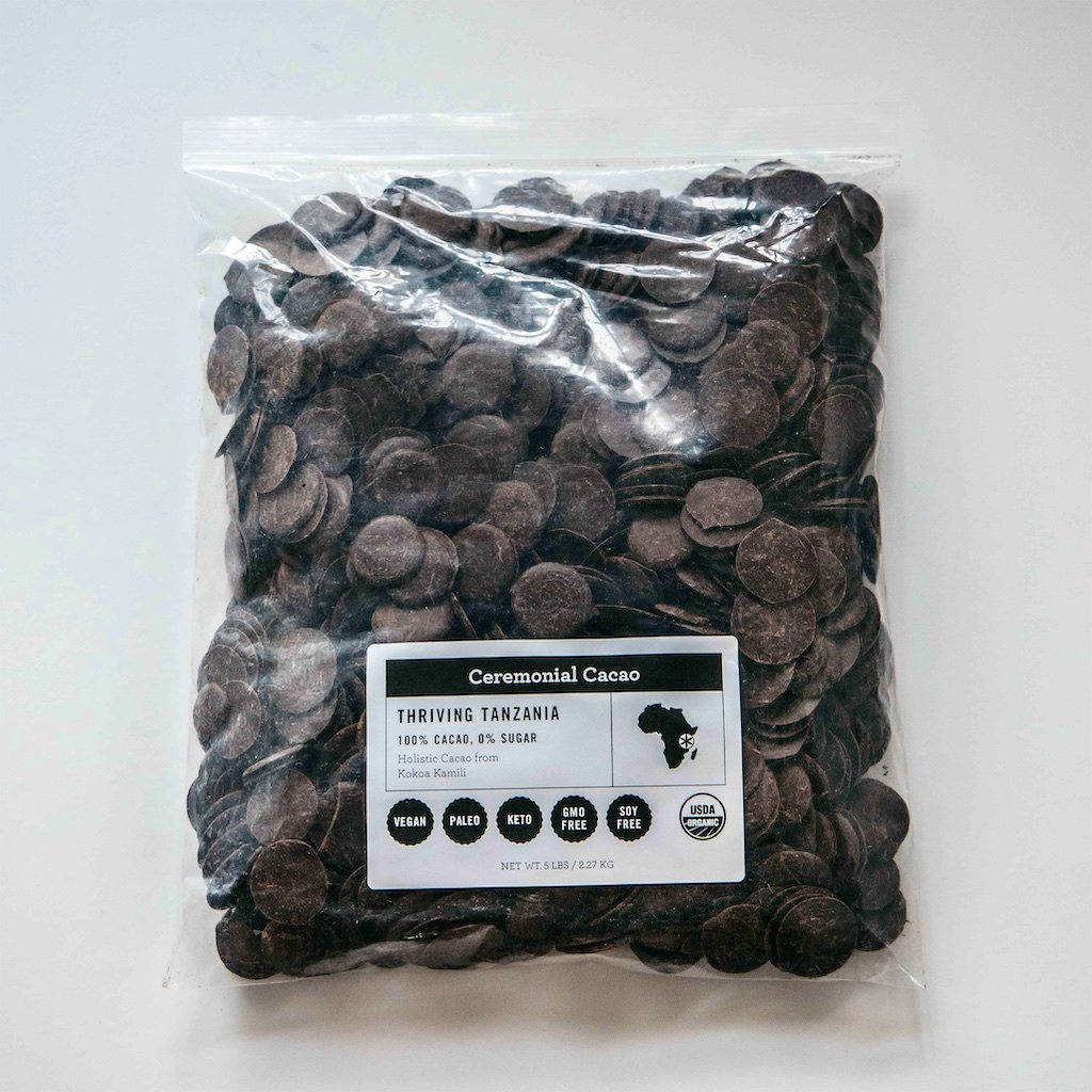 Thriving Tanzania Ceremonial Cacao 5LB Bag