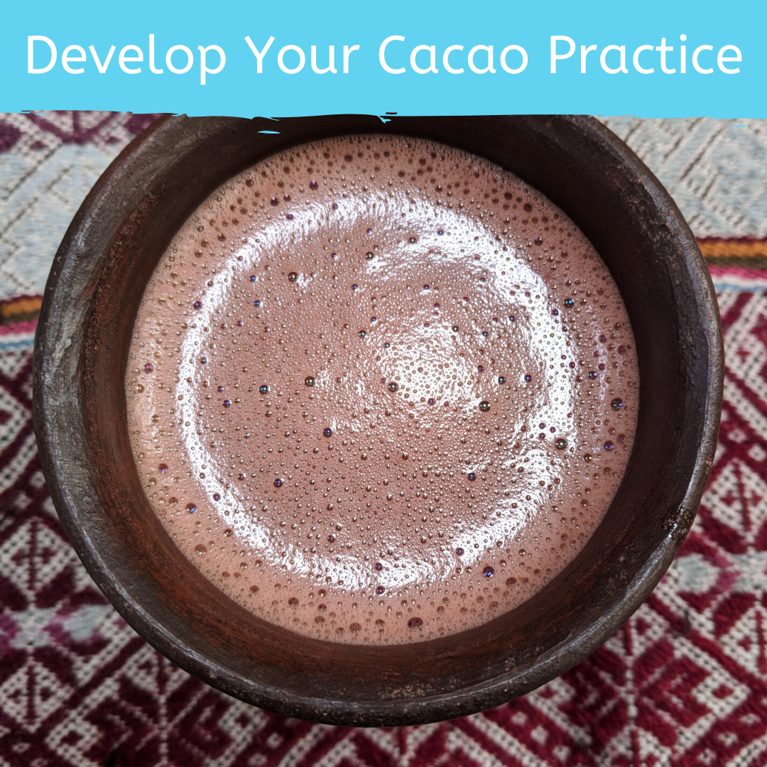 Course 2: Develop Your Cacao Practice for Cacao Ceremony and Holistic Health by Firefly Chocolate