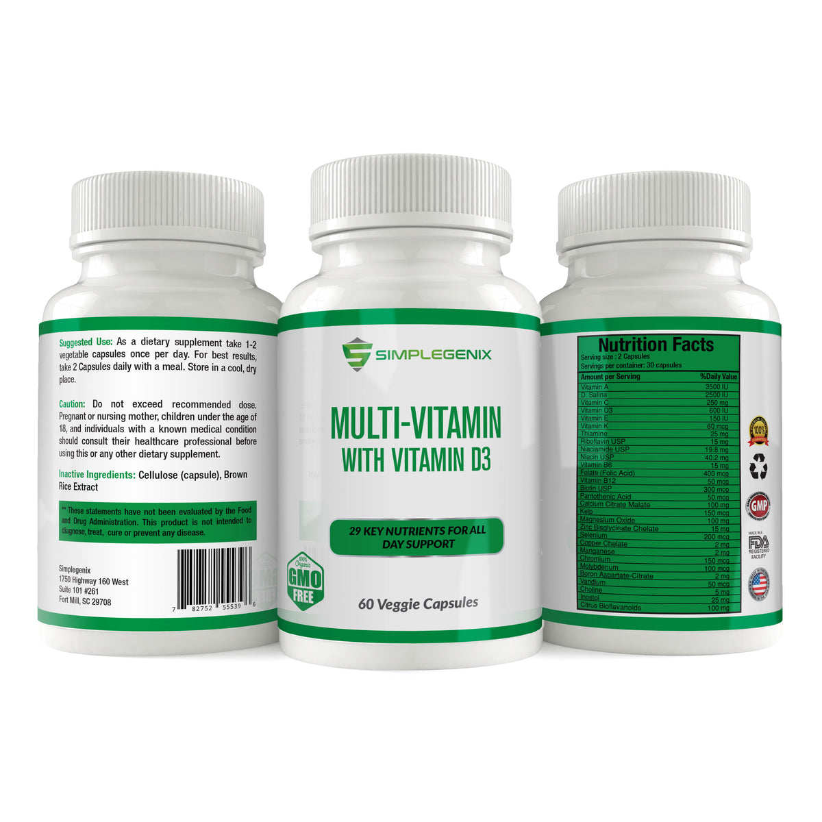 Multi Vitamin with Vitamin D3