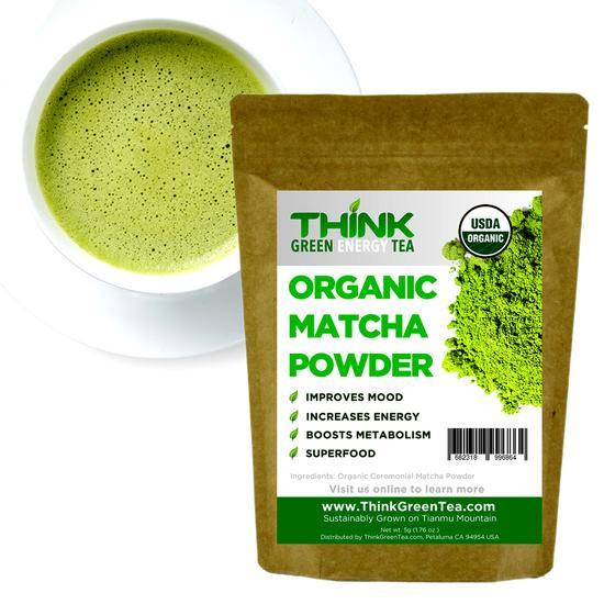 Think Green Energy Tea Matcha Powder 50g (25 servings)