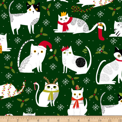 Ink & Arrow Meowy Christmas Christmas Cats Forest