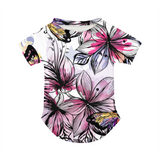 Butterflies &  flowers Doggie Tee
