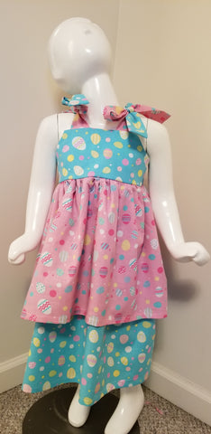 Double Layer Easter Knot Dress