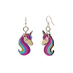 Bashful Unicorn Earrings