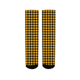 HOUNDSTOOTH PRINT Men's Socks