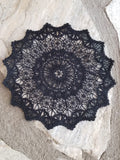 Embroidered Dream Catcher Lace Center