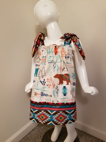 Bear Aztec Dress