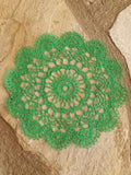 Scalloped Edge Embroidered Doilies