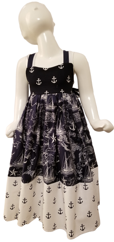 Nautical Bow Dress