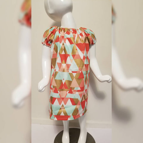 Triangle Print Dress