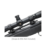 LaRue Tactical LT719 0.875 Inch 30mm Quick Detach Optic Scope Rings-Scope Mounts-Tactical Swagg