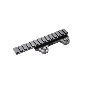 "LaRue Tactical LT101-VFZ 5/8"" Vectored Force Zero 13 Lug Picatinny Rail Riser Mount - Scope Mounts - TacticalSwagg.com"