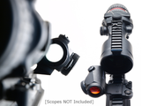 LaRue Tactical LT724 Quick Detach Aimpoint Micro T-1 Red Dot Optic Mount-Optic Mounts-LaRue Tactical-Tactical Swagg