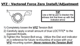 LaRue Tactical LT719-VFZ Vectored Force Zero Ultra Low Profile Optic Scope Rings-Scope Mounts-Tactical Swagg