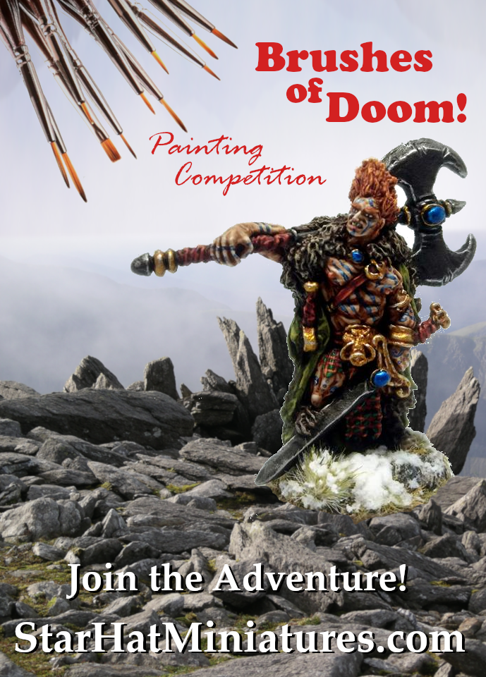 Painting Competition: Brushes of Doom! 2018