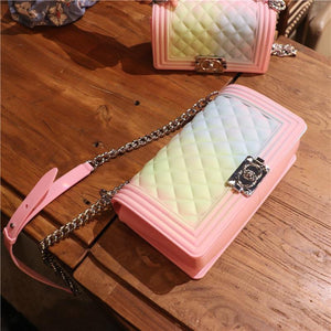 Color Gradient Jelly Handbag