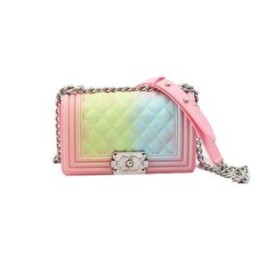 Color Gradient Jelly Handbag - Ommicron Swiss