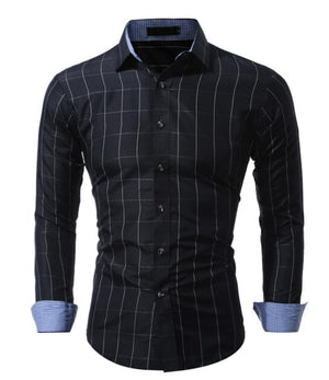 Classic Plaid Mens Shirts