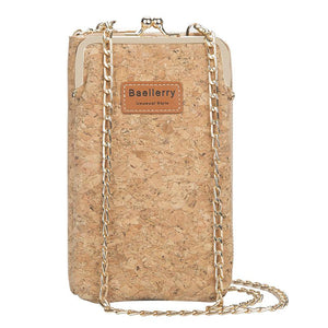 Cork Long Wallet For Women