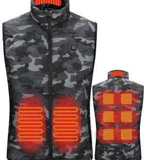 Heated Vest Smart Electric Heating Jacket - Ommicron Swiss
